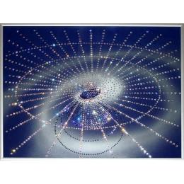 """Картина Сваровски """"Геометрия Вселенной"""", 40 х 30 см"""
