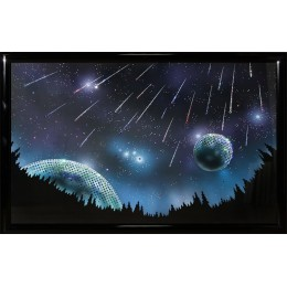 """Картина Swarovski """"Звездопад"""", 80 х 50 см"""