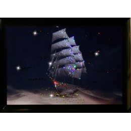 "Картина Swarovski ""Корабль пустыни"""