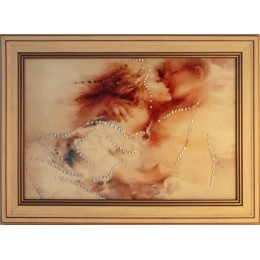"Картина с кристаллами Swarovski ""С добрым утром"" 35,5х25,5 см"