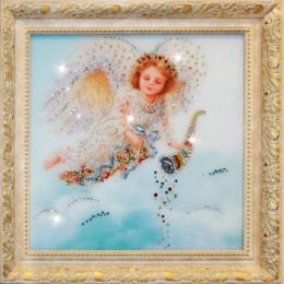 """Картина Swarovski """"Ангел изобилия"""""""