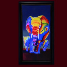 "Картина с кристаллами Swarovski ""Слон"""
