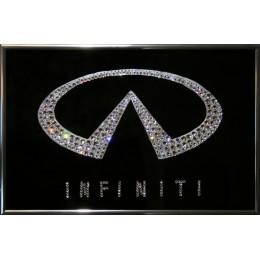 "Картина с кристаллами Swarovski ""Infiniti"", 30х20см"