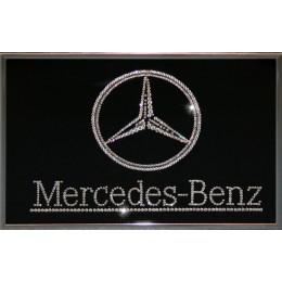 """Картина с кристаллами Swarovski """"Mercedes"""", 30х20см"""