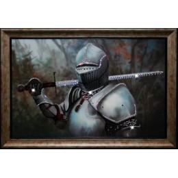 "Картина с кристаллами Swarovski ""Рыцарь"""