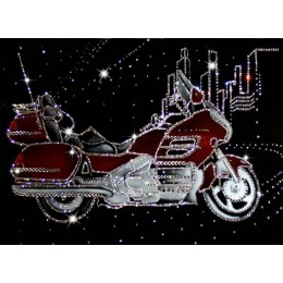 "Картина Swarovski ""Мотоцикл"""