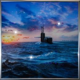 "Картина Swarovski ""Подводная лодка"""