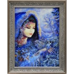 "Картина с кристаллами Swarovski ""Снежная королева"", 49 х 39 см"