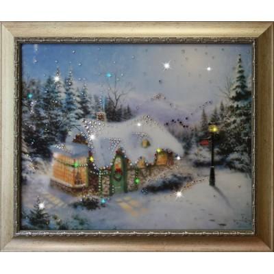 """Картина Swarovski """"Рождество"""""""