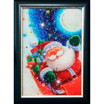 "Картина Swarovski ""Санта Клаус"""