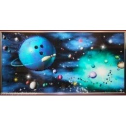 """Картина из кристаллов Swarovski """"Боулинг"""""""