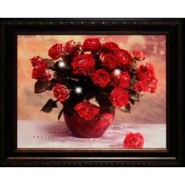 "Картина с кристаллами Swarovski ""Миллион алых роз"""