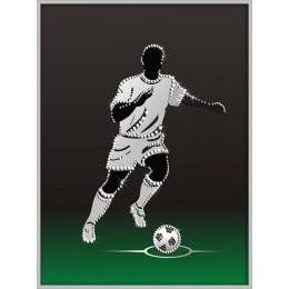"Картина Swarovski ""Футболист"""