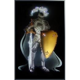 """Картина Swarovski """"Рыцарь круглого стола"""""""