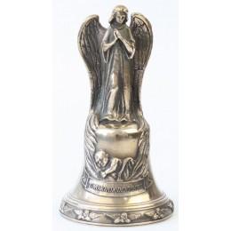 """Колокол бронзовый """"С Новорожденным (ангел)"""" d7.5 см, 0.6 кг"""