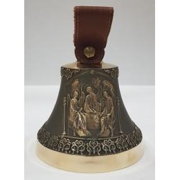 """Колокол бронзовый """"Святая Троица"""" d12 см, 1 кг"""