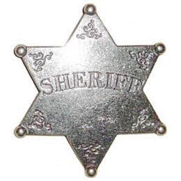 """Декоративный значок """"Шериф"""""""
