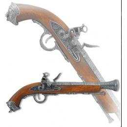 """Пистоль кремневый, """"Австрийский"""" XVIIIв, 39 см"""