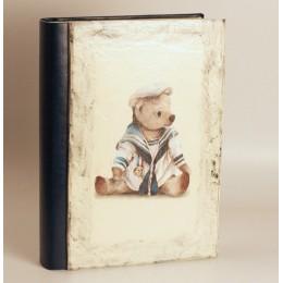 """Детский фотоальбом """"Медведь - моряк"""" 24х31см"""