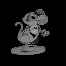 "Фигурка с кристаллами Swarovski ""Мышка символ 2020 года"""