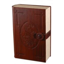 "Мини-бар книга для вина ""Шабли"", натуральная кожа"