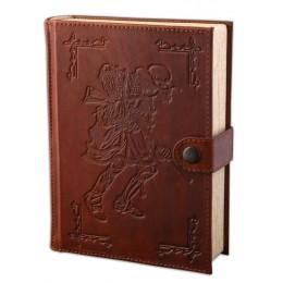 "Книга-коньячница ""Delamain Le Voyage"", натуральная кожа"