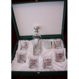 "Набор для виски на 6 персон Chinelli ""Царская Семья"" (серебро)"