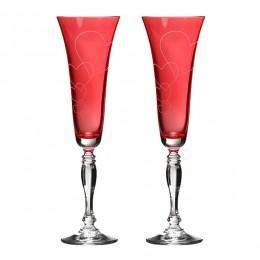 "Набор бокалов для шампанского ""Love forever"""