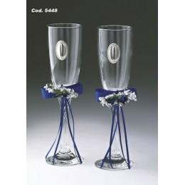 """Набор свадебных бокалов для шампанского Valenti """"Ромео и Джульетта"""""""