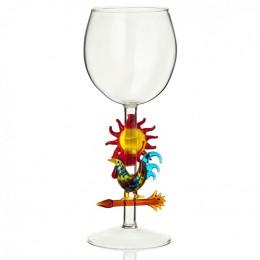 """Дизайнерский бокал для вина """"Доброе утро"""", 350мл"""