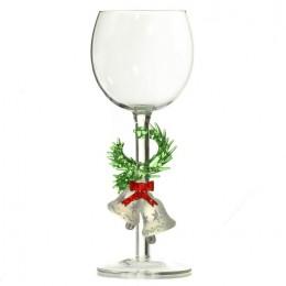 """Дизайнерский бокал для вина """"Колокольчики на ветке"""", 350мл"""
