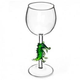 """Дизайнерский бокал для вина """"Крокодил"""", 350мл"""