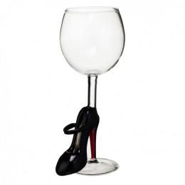 """Дизайнерский бокал для вина """"Лабутен"""", 350мл"""