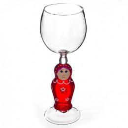 """Дизайнерский бокал для вина """"Матрешка"""", 350мл"""