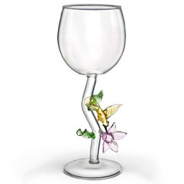 """Дизайнерский бокал для вина """"Медовая калибри"""", 350мл"""