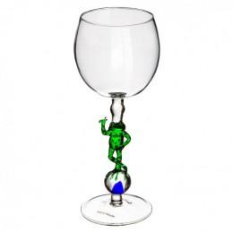 """Дизайнерский бокал для вина """"Мировая лягушка"""", 350мл"""