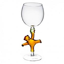 """Дизайнерский бокал для вина """"Мишка"""", 350мл"""