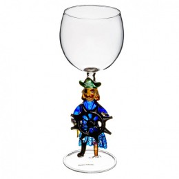 """Дизайнерский бокал для вина """"Морской волк"""", 350мл"""
