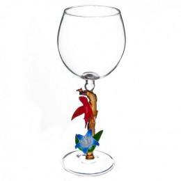 """Дизайнерский бокал для вина """"Птица счастья"""", 350мл"""