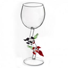 """Дизайнерский бокал для вина """"Рыбы-символ богатства и процветания"""", 350мл"""