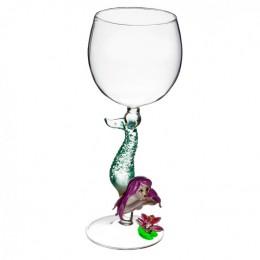 """Дизайнерский бокал для вина """"Русалка"""", 350мл"""