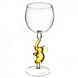 """Дизайнерский бокал для вина """"Слоненок"""", 350мл"""