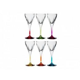 """Набор бокалов для вина RCR """"Фьюжн Колорс"""" (на 6 персон)"""
