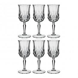 """Набор из 6-ти бокалов для вина из """"Соната"""", 160 мл"""