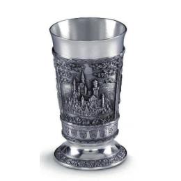 """Подарочный бокал для вина из олова """"Bayern"""" выс.10см"""