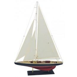 Модель гоночной яхты, 60х86 см.