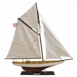 """Модель гоночной яхты """"COLUMBIA"""" 60 см"""