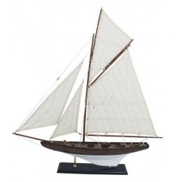 """Модель гоночной яхты """"Волна"""", 70х72,5 см."""