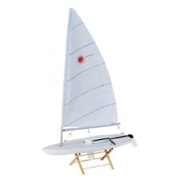 """Модель яхты """"LASER"""", 42 см"""