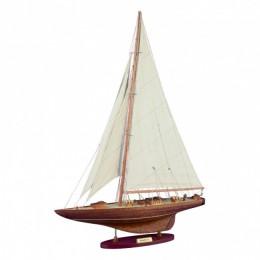 "Модель яхты ""Shamrock"" 1930г., 60х78 см"